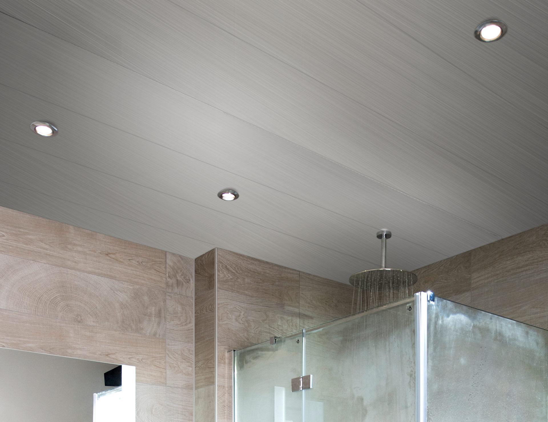 Badkamer Plafond Aluminium : Luxalon plafond type largo u bekijk dit product