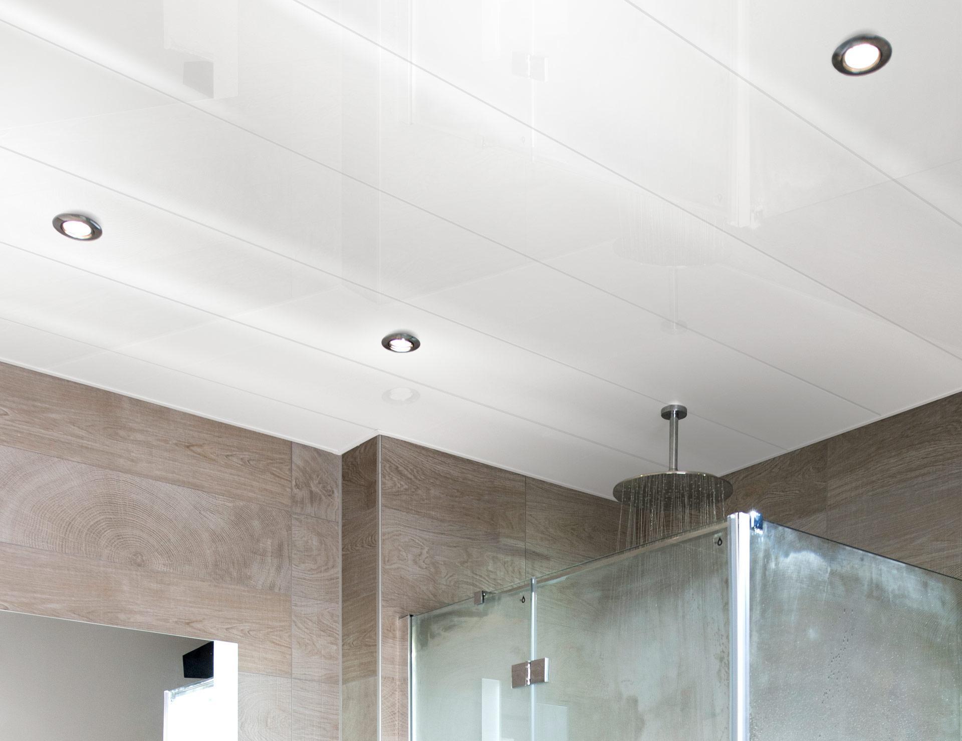 Aluminium Plafond Badkamer : Luxalon plafond type largo u bekijk dit product