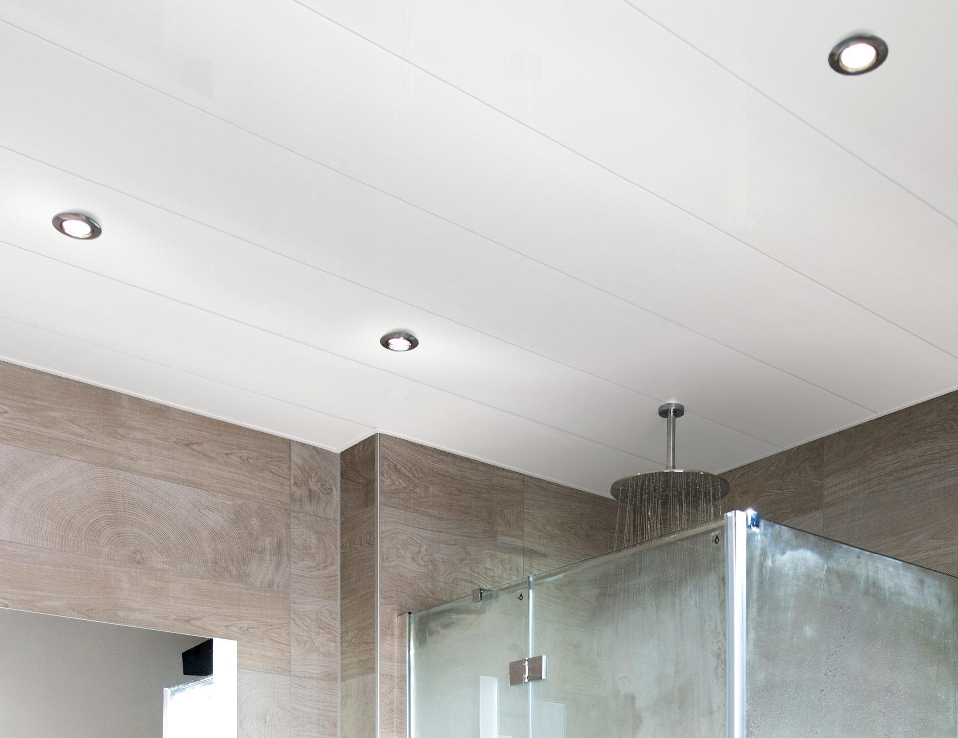 Kunststof Plafond Badkamer : Badkamer plafond luxalon inbouwspot keuken keuken inbouwspots led