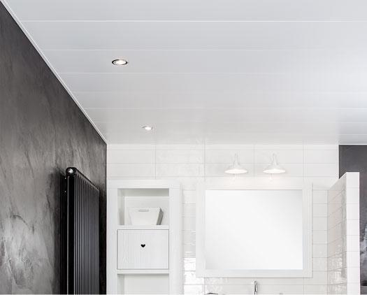 Badkamer Plafond Aluminium : Luxalon voor plafonds als kroon op iedere ruimte